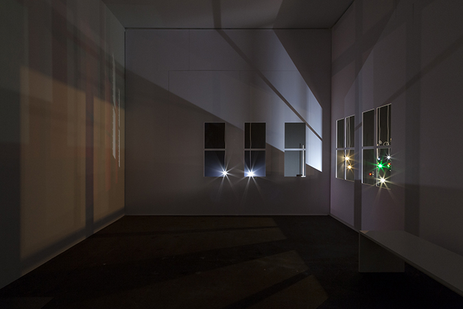 Light in an Empty Room (Studio at Night)